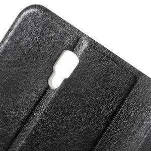 Horse peněženkové pouzdro na Lenovo A2010 - černé - 7