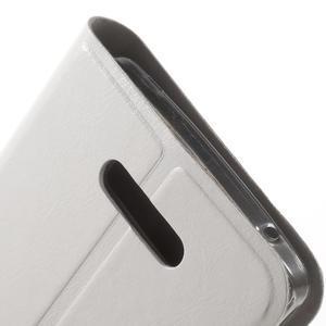 Horse peněženkové pouzdro na Lenovo A2010 - bílé - 7