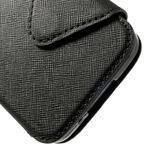 Pěněženkové pouzdro s okýnkem pro Samsung Galaxy S5 mini -  černé - 7/7