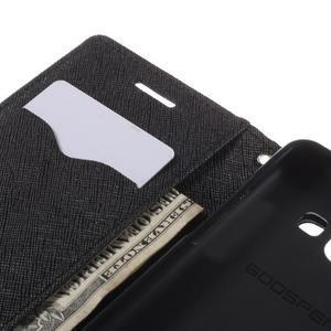 Mr. Fancy koženkové pouzdro na Samsung Galaxy A5 - černé - 7