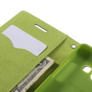 Mr. Fancy koženkové pouzdro na Samsung Galaxy A5 - tmavěmodré - 7