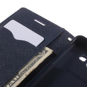 Mr. Fancy koženkové pouzdro na Samsung Galaxy A5 - fialové - 7