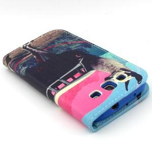 Peněženkové pouzdro na mobil Samsung Galaxy S3 - lama - 7