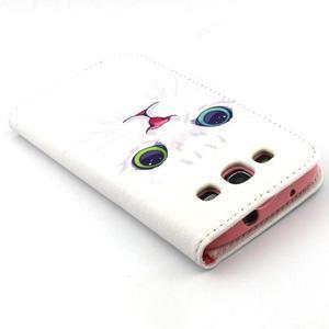Peněženkové pouzdro na mobil Samsung Galaxy S3 - kočička - 7