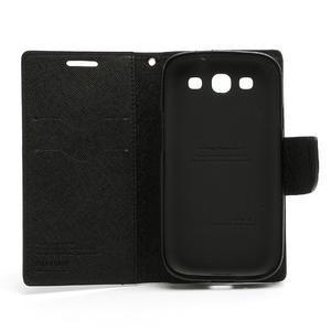Mr. Fancy koženkové pouzdro na Samsung Galaxy S3 - černé - 7