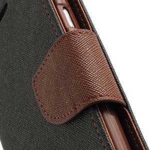 Mr. Fancy koženkové pouzdro na Samsung Galaxy S3 - černé/hnědé - 7