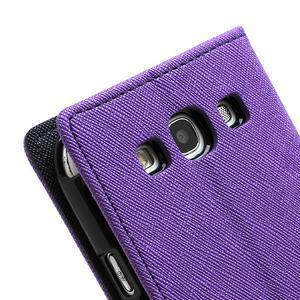 Mr. Fancy koženkové pouzdro na Samsung Galaxy S3 - fialové - 7