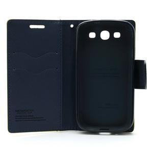 Mr. Fancy koženkové pouzdro na Samsung Galaxy S3 - zelené - 7