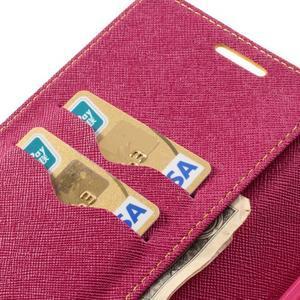 Goosp PU kožené pouzdro na Samsung Galaxy Note 3 - žluté - 7