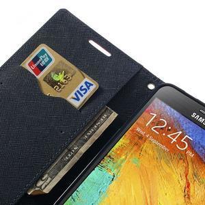Goosp PU kožené pouzdro na Samsung Galaxy Note 3 - rose - 7