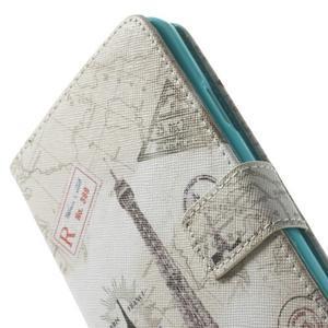 Peněženkové pouzdro na mobil Samsung Galaxy Note 3 - Eiffelova věž - 7
