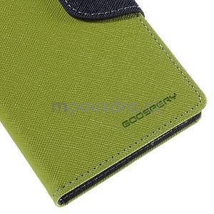 Ochranné pouzdro na Sony Xperia M4 Aqua - zelené/tmavěmodré - 7