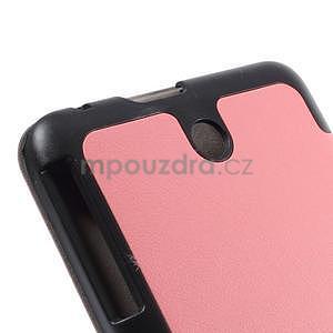Supreme polohovatelné pouzdro na tablet Asus Memo Pad 7 ME176C - růžové - 7