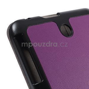 Supreme polohovatelné pouzdro na tablet Asus Memo Pad 7 ME176C - fialové - 7