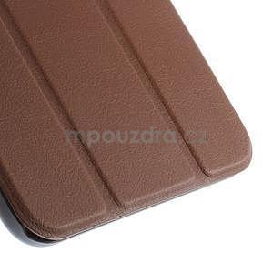 Supreme polohovatelné pouzdro na tablet Asus Memo Pad 7 ME176C - hnědé - 7