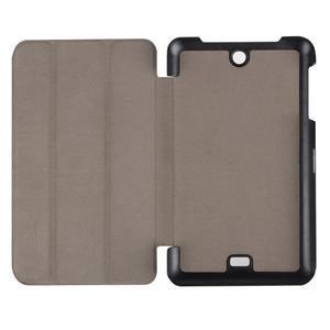 Trifold polohovatelné pouzdro na tablet Acer Iconia One 7 B1-770 - tmavěmodré - 7