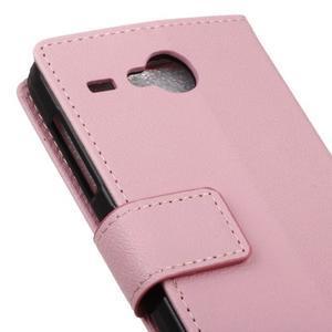 Gregory peněženkové pouzdro na Acer Liquid Z520 - růžové - 7
