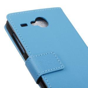 Gregory peněženkové pouzdro na Acer Liquid Z520 - modré - 7