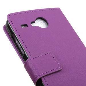 Gregory peněženkové pouzdro na Acer Liquid Z520 - fialové - 7