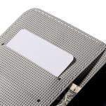Nice koženkové pouzdro na mobil Acer Liquid Z520 - červené květy - 7/7