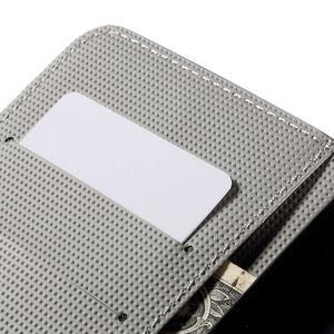 Nice koženkové pouzdro na mobil Acer Liquid Z520 - kvetoucí květy - 7