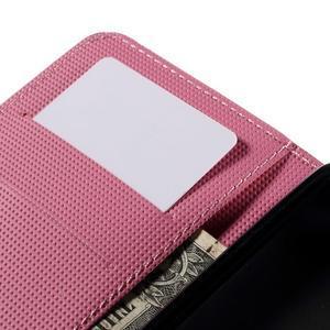 Nice koženkové pouzdro na mobil Acer Liquid Z520 - geo tvary - 7