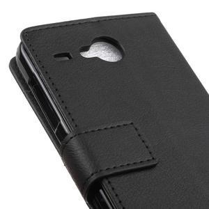 Gregory peněženkové pouzdro na Acer Liquid Z520 - černé - 7
