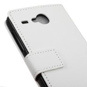 Gregory peněženkové pouzdro na Acer Liquid Z520 - bílé - 7