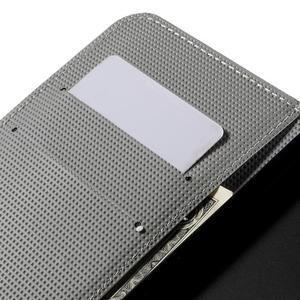 Valet peněženkové pouzdro na Acer Liquid Z530 - fialový motýl - 7