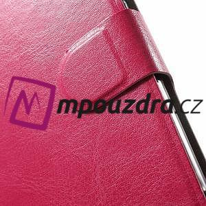 Horse PU kožené pouzdro na Asus Zenfone 3 Max ZC520TL - rose - 7