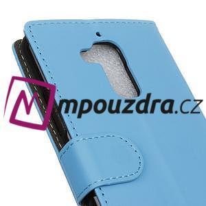 Glory peněženkové pouzdro na Asus Zenfone 3 Max - světlemodré - 7