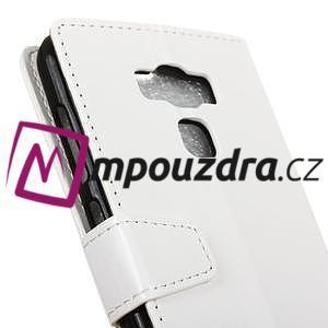 Wall knížkové pouzdro na mobil Asus Zenfone 3 Max ZC553KL - bílé - 7