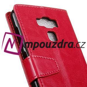 Wall knížkové pouzdro na mobil Asus Zenfone 3 Max ZC553KL - rose - 7