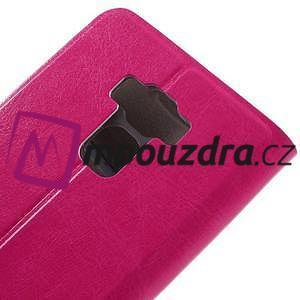 Horse PU kožené pouzdro na Asus Zenfone 3 Max ZC553KL - rose - 7