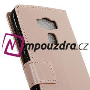 Peněženkové pouzdro na Asus Zenfone 3 Max ZC553KL - růžové - 7