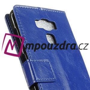 Peněženkové pouzdro na Asus Zenfone 3 Max ZC553KL - modré - 7