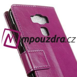 Peněženkové pouzdro na Asus Zenfone 3 Max ZC553KL - fialové - 7