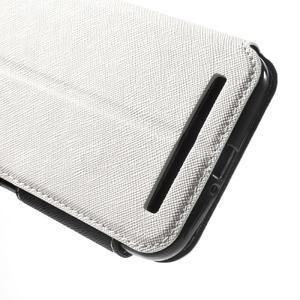 Diary peněženkové pouzdro s okýnkem na Asus Zenfone Max - bílé - 7