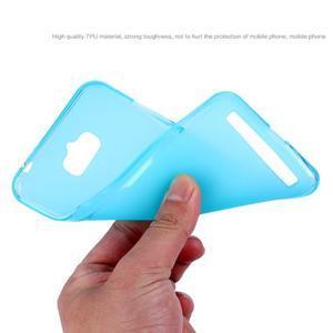 Matný gelový obal na Asus Zenfone Max - modrý - 7
