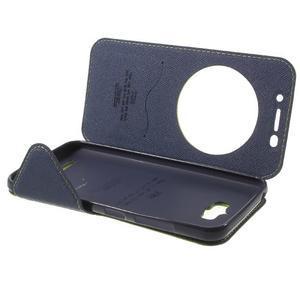Diary peněženkové pouzdro s okýnkem na Asus Zenfone Max - zelené - 7