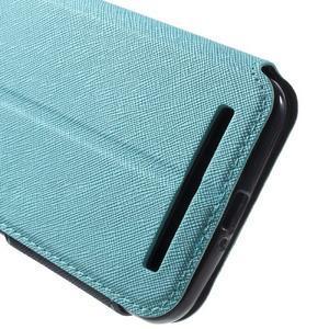 Diary peněženkové pouzdro s okýnkem na Asus Zenfone Max - světlemodré - 7