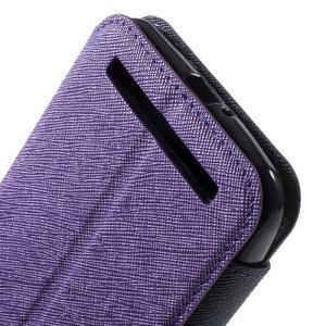 Diary peněženkové pouzdro s okýnkem na Asus Zenfone Max - fialové - 7