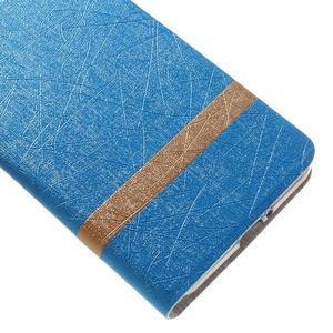 Lines klopovové pouzdro na Asus Zenfone Max - modré - 7
