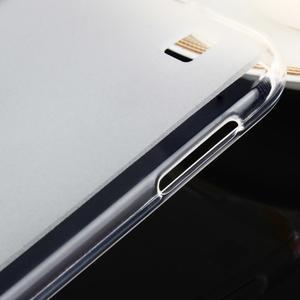 Gelový matný obal na mobil Asus Zenfone Zoom - bílý - 7