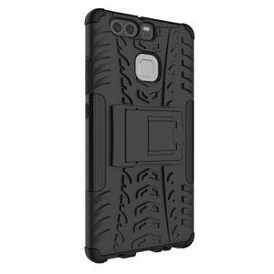 Outdoor ochranný kryt na mobil Huawei P9 - černé - 7