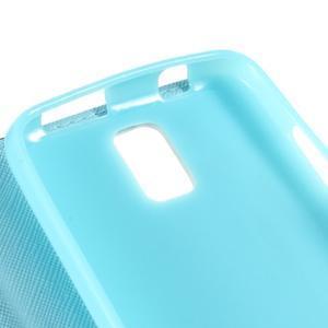 Peněženkové pouzdro na mobil Huawei Y3 a Y360 - modrý motýl - 7