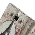 Peněženkové zapínací pouzdro na Samsung Galaxy A5 - Eiffelova věž - 7/7