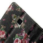 Peněženkové zapínací pouzdro na Samsung Galaxy A5 - růže - 7/7