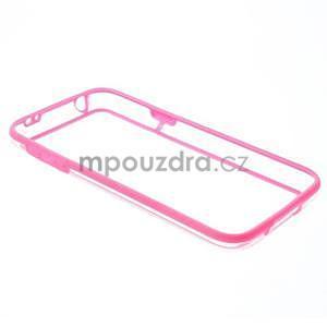 Rose gelový kryt s plastovými lemy na Samsung Galaxy S5 mini - 7