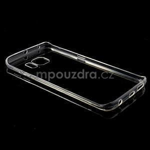 Transparentní hybridní gelový obal na Samsung Galaxy S6 Edge - 7